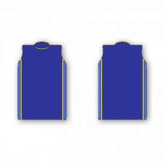Panelled Warmup Vest